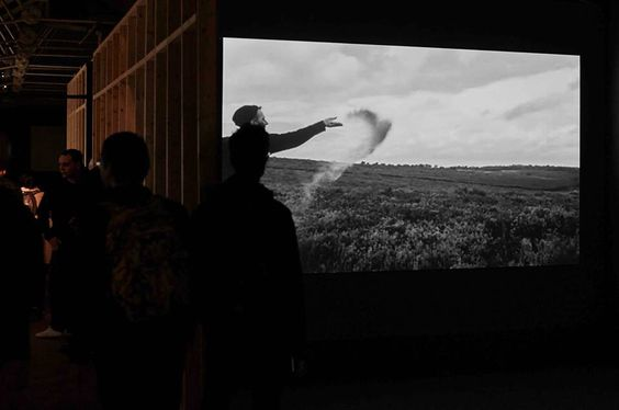 George Saxon & D John Briscoe exhibition A Record of Undying at Vivid Projects 03/10-15/11/14. UK