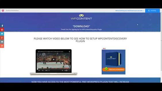 How To Install WP Content Discovery WordPress Plugin  https://www.youtube.com/watch?v=W6BRFhF2R10