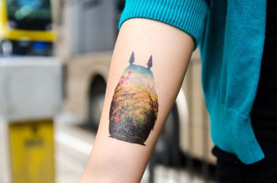 Totoro-Dottinghill-temp-tattoo