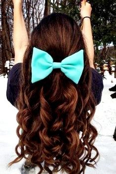 Amazing Big Bows Prom Hair And Bows On Pinterest Hairstyles For Women Draintrainus