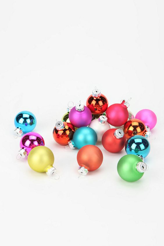 UO Holiday Party Glass Ornament Set #urbanoutfitters #holiday