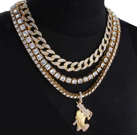 Iced Out Choker Iced Out Cuban Chain Tennis Chain Pendant Luxfashionjewels Chain Pendants Chain Mens Bling