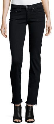 Low-Rise Straight-Leg Jeans. We simply love these.