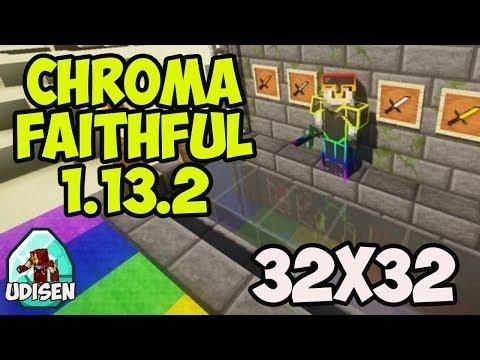 Chroma Faithful 32x32 Resource Pack 1 13 2 How To Install Texture Packs In Minecraft 1 13 2 Texture Packs Minecraft 1 Texture