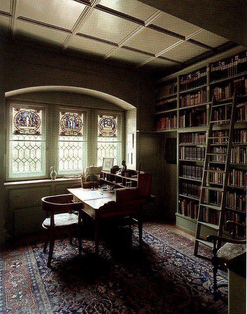 Carl Jung's library, Zurich, Switzerland