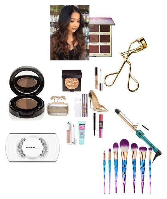 """""""Untitled #3222"""" by fashionicon67 ❤ liked on Polyvore featuring Christian Louboutin, Alexander McQueen, Urban Decay, Lumière, Maybelline, Laura Mercier, NYX, MAC Cosmetics, Anastasia Beverly Hills and tarte"""