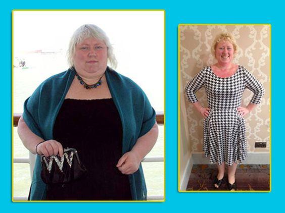 125 libras después, cumplió su propósito de bajar de peso.