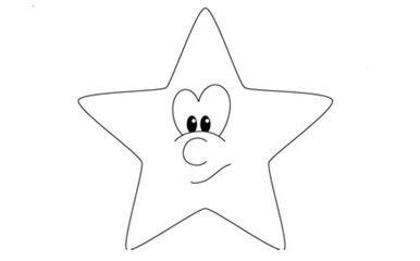 Estrellas De Navidad Para Colorear Estrellas De Navidad Dibujo De Navidad Estrellas