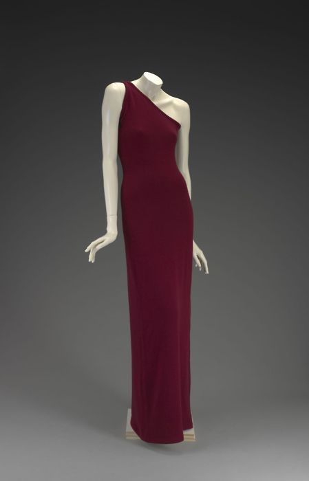 Halston dress ca. 1976-1978 via The Indianapolis Museum of Art - Now I see why Halston was so popular