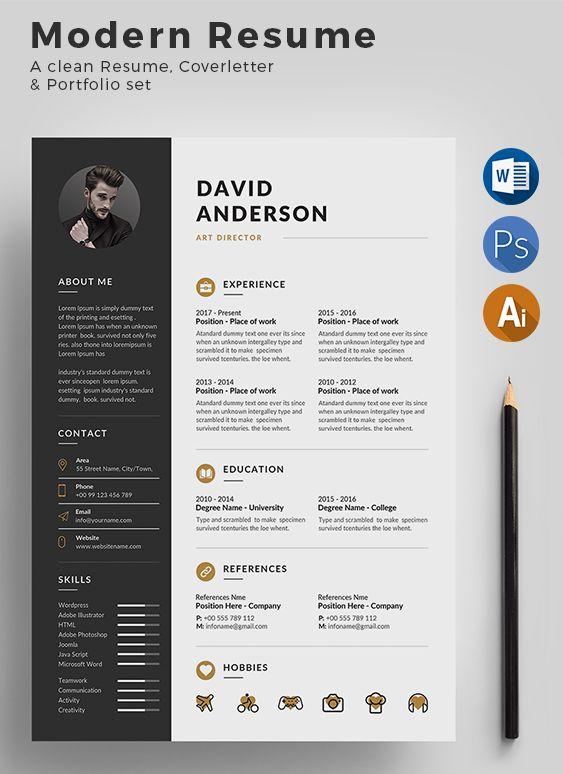 Resume Cv Resume Design Template Resume Design Creative Infographic Resume