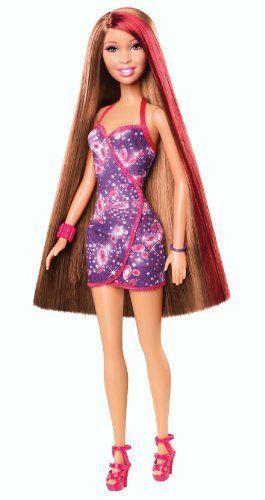Barbie Hairtastic African-American Doll #Barbie