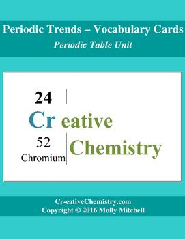 Pinterest the worlds catalog of ideas explore elements video elements activity and more periodic trends vocabulary cards urtaz Gallery