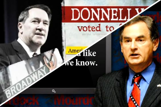 """Donnelly vs. Mourdock attack ads by outside groups. """"One of the many reasons I'm disgusted with politics""""   http://mattdantodd.com/2012/11/05/one-of-the-many-reasons-im-disgusted-with-politics/#"""