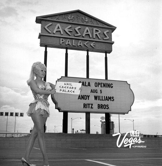 Casesars Palace 1966 Viva Vintage Vegas