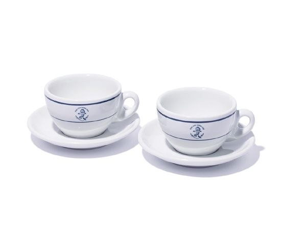 Stussy Livin' General Store ACF Cup & Saucer.  #stussy #generalstore #coffeecups
