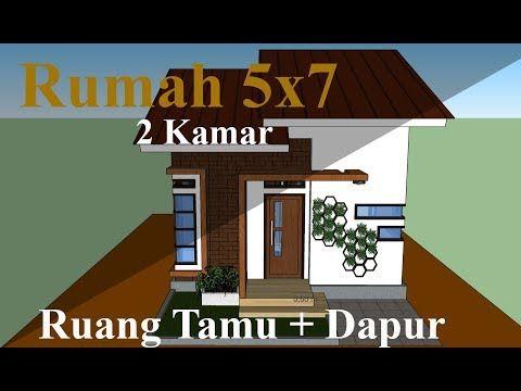 Desain Rumah 5x7 Lantai 2 Minimalis Cek Bahan Bangunan