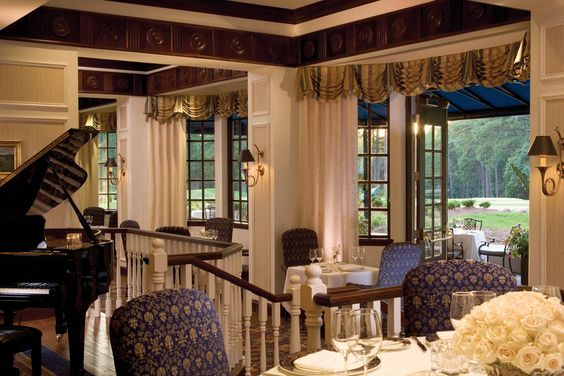Fairview Dining Room Amazing The Beautiful New Duke Blue Window Treatments In The Fairview Review