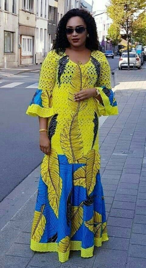 Pin By Salimatou Diallo On Bibiane Mujinga Latest African Fashion Dresses African Maxi Dresses African Dresses For Kids
