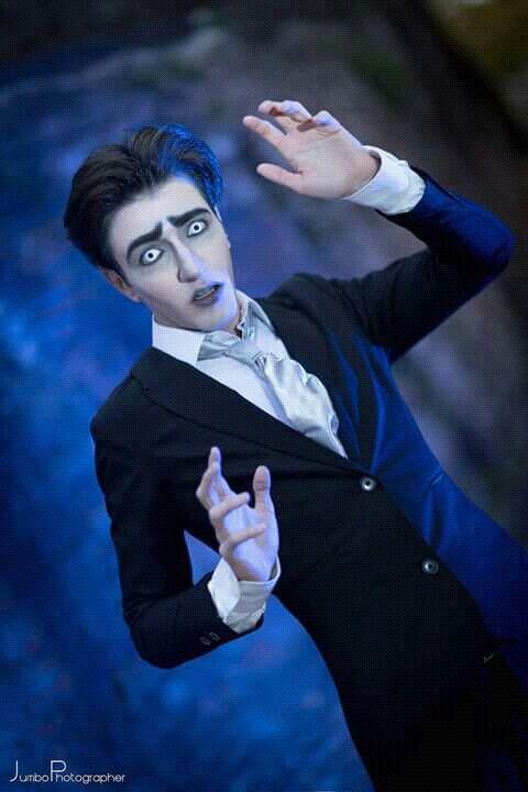 Victor Van Dort Corpse Bride halloween cosplay costume suit cartoon