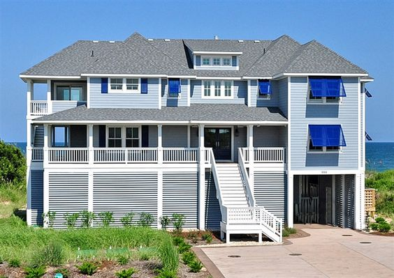 Twiddy Outer Banks Vacation Home Knot Worried Corolla Oceanfront 10 Bedrooms Obx
