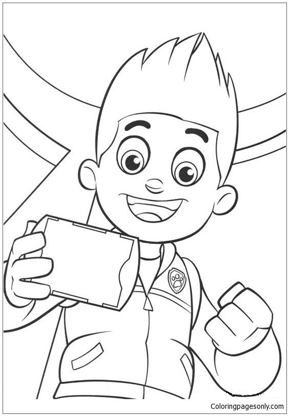 Pups From Paw Patrol Coloring Page Paw Patrol Coloring Pages Paw Patrol Coloring Coloring Pages