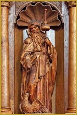 Saint Himère - Abbaye Saint-Maurice - Ebersmunster, Bas-Rhin (France) - Photo Yves Noto Campanella