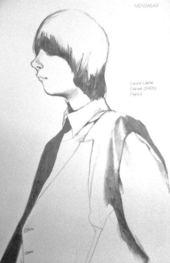 Laura Laine - Daniel, pencil, 2005