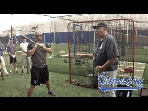 Gameday Baseball Mlb Clinics Soft Toss 2 Types Youtube Baseballbats Gameday Baseball Espn Baseball Baseball Drills