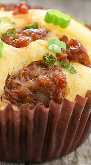 ... | Cornbread Sausage Stuffing, Stuffing Muffins and Sausage Stuffing