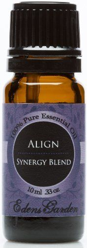 Align synergy blend essential oil 10 ml comparable to - Edens garden essential oils amazon ...