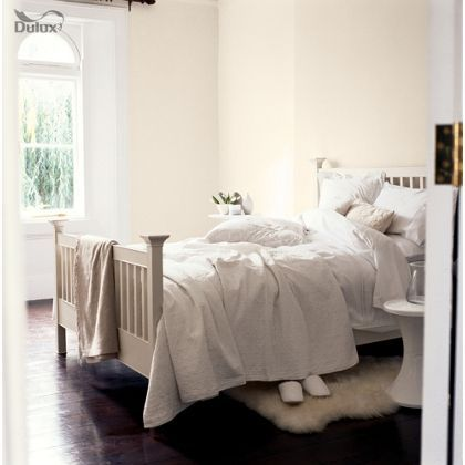 Natural Calico Dulux paint - available now at Homebase in store and online at homebase.co.uk.