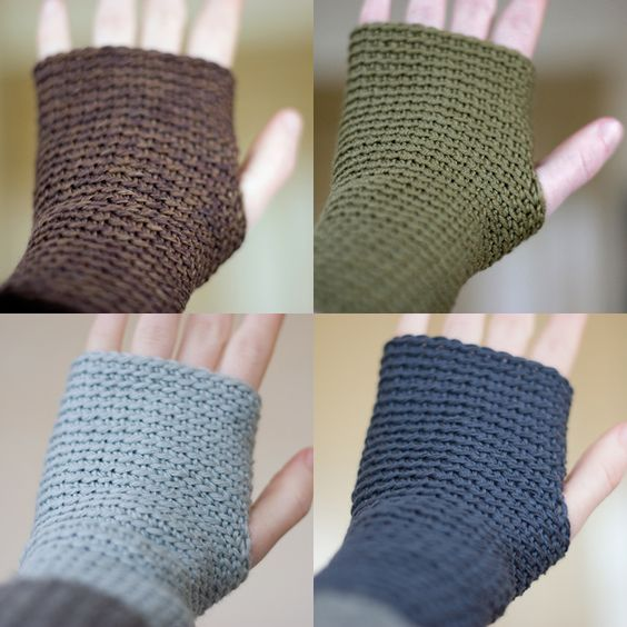 Wrist Warmers, this crochet done right