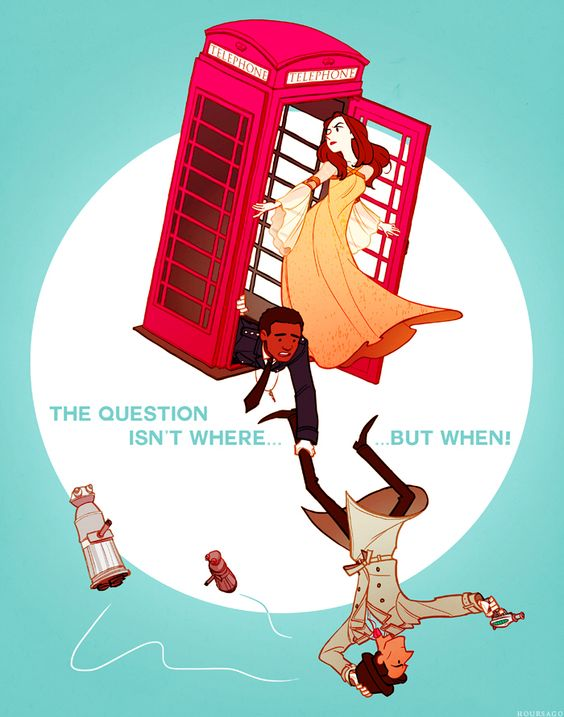 Inspector Spacetime: Community and Doctor Who's child. Pure awesomeness!
