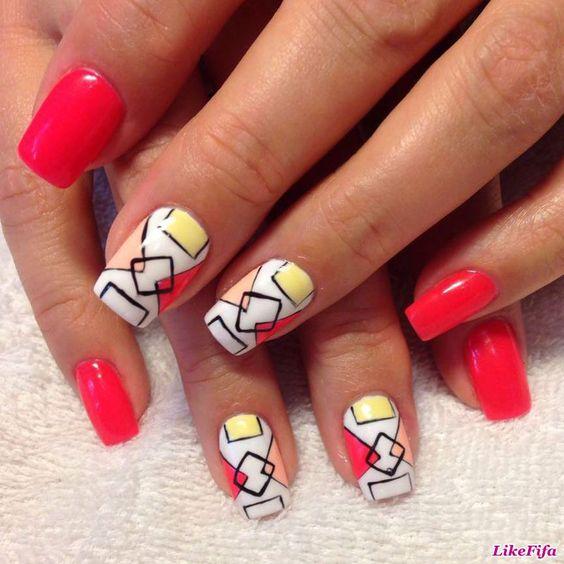 #маникюр, #маникюрлето2016, #дизайн_ногтей, #маникюр_цветы…