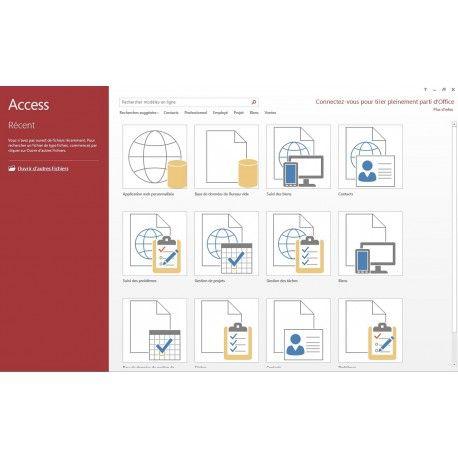 Pour toute personne confrontée à un besoin de créer ou utiliser une base de données avec le logiciel Microsoft Access 2013.