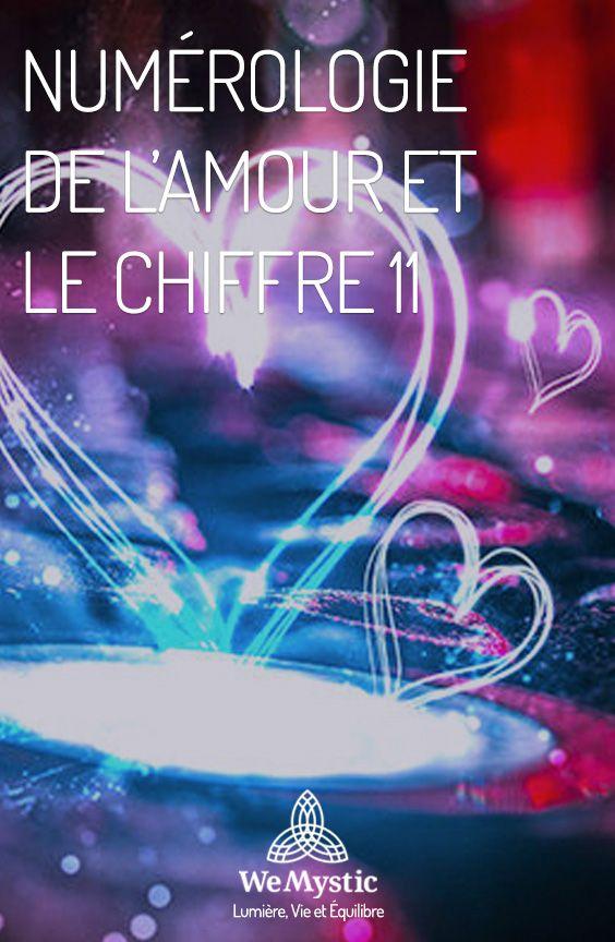 La Numerologie De L Amour Et Le Nombre Maitre 11 Wemystic France Numerologie Amour Guide Spirituel