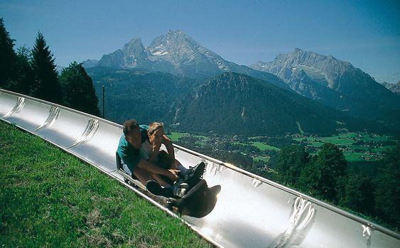 Sommerrodelbahn Obersalzberg Berchtesgaden