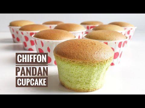 Resep Pandan Chiffon Cupcake Tanpa Bahan Pengembang Lembut Moist Dan Anti Kempes Youtube Resep Cupcake Resep Makanan Korea