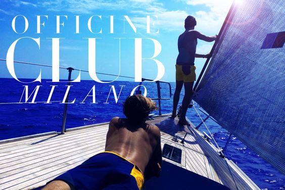 Officine Club Milano: la qualità e il design Made in Italy di un brand giovanissimo. READ http://bit.ly/1qKIfAe
