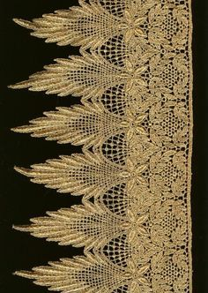 1930's trim and lace