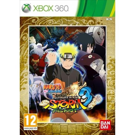 Naruto Shippuden Ultimate Ninja Storm 3 Full Burst Xbox 360 Game | http://gamesactions.com shares #new #latest #videogames #games for #pc #psp #ps3 #wii #xbox #nintendo #3ds