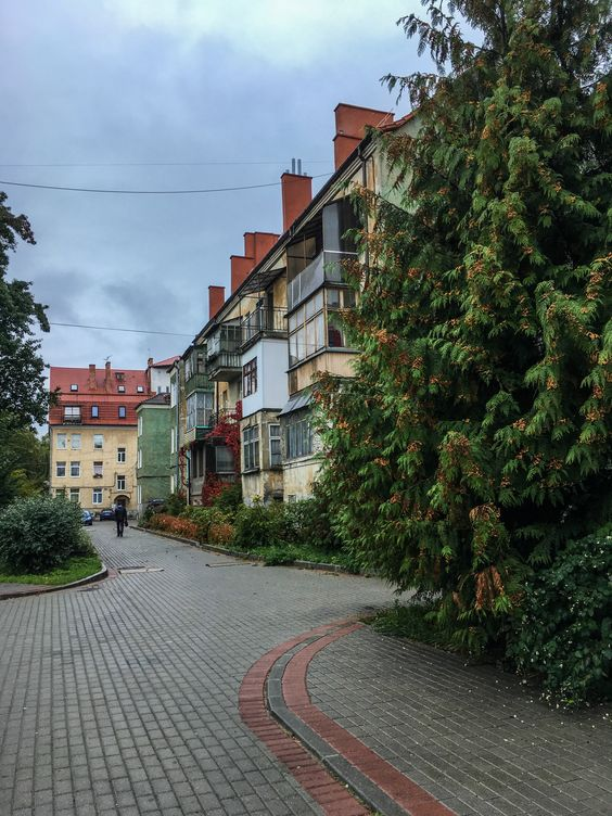 На улочках Калининграда. Фото Жени Шведы