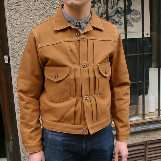 Brown Duck Jacket | Outdoor Jacket