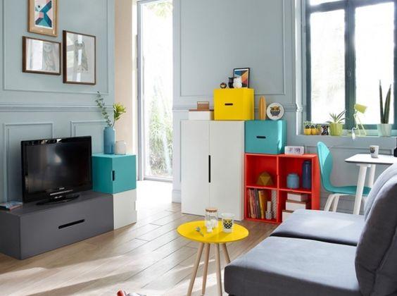Studio rangements cube 3 suisses Les studios Pinterest Chang\u0027e