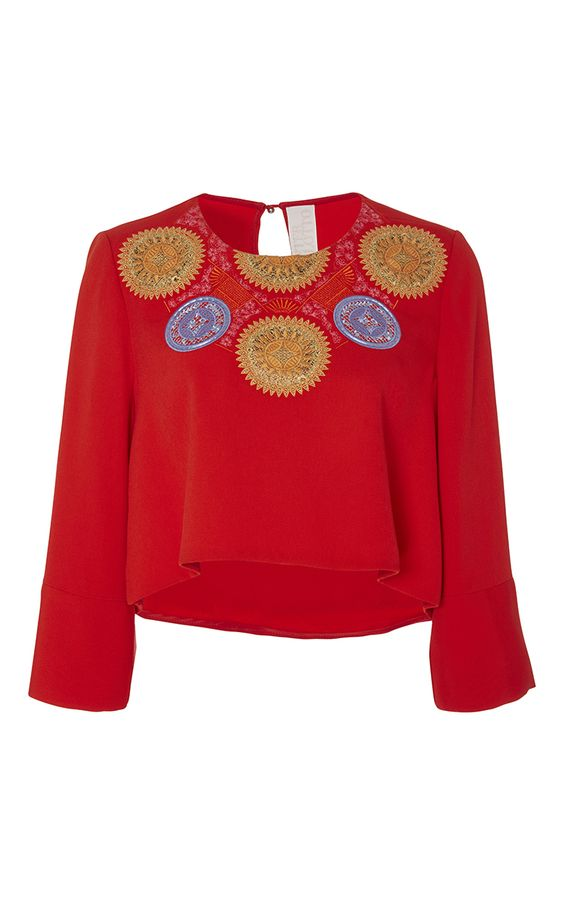 Athena Crop by Peter Pilotto for Preorder on Moda Operandi