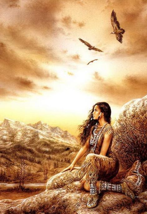 Native Indians Girl Art | ... art+native+american+girl.png#native%20american%20fantasy%20art