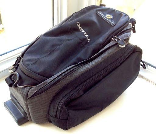 Trek Interchange Bike Bag Rack Trunk £25