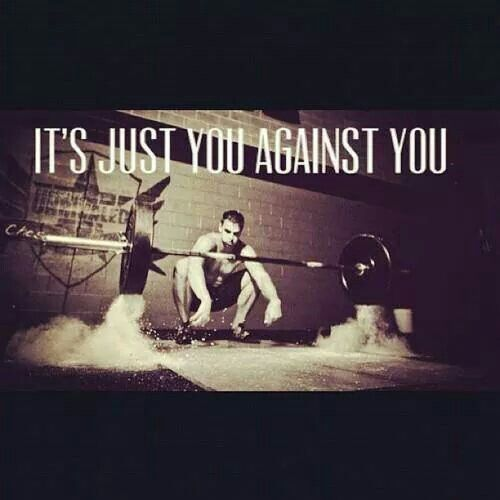 You against you: