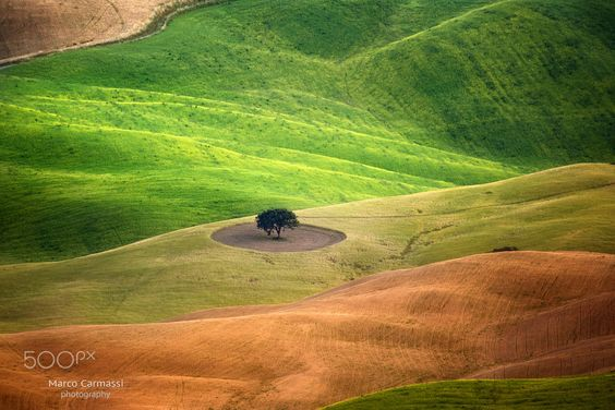 The colors of Val D'Orcia by Marco Carmassi on 500px