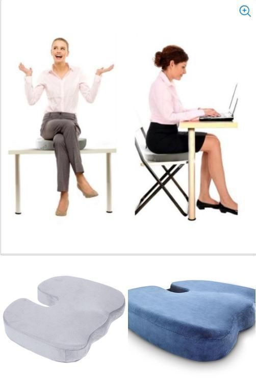 Miracle Orthopedic Bamboo Cushion Comfort Seat Soft Foam Pad Seat Pillow Chair Unbranded Cushions Chair Seating